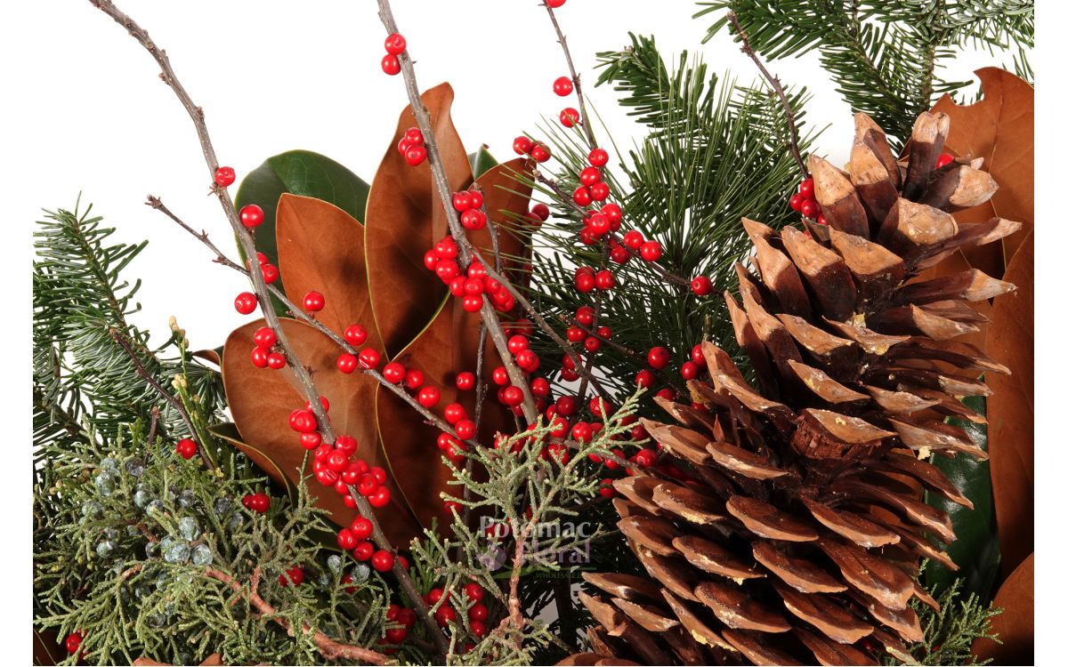 Holiday Décor - Florals Meet Festivity