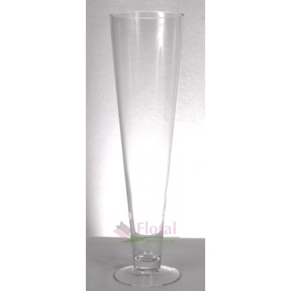 Pilsner Vase 16 Tall X 4 Opening Potomac Floral Wholesale
