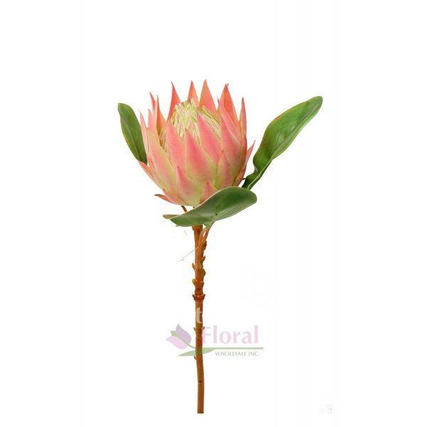 Silk Protea Stem 26 Quot Pink Potomac Floral Wholesale