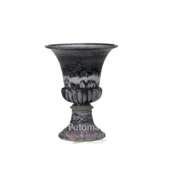 Slate Plastic 18 Pedestal Compote Potomac Floral Wholesale