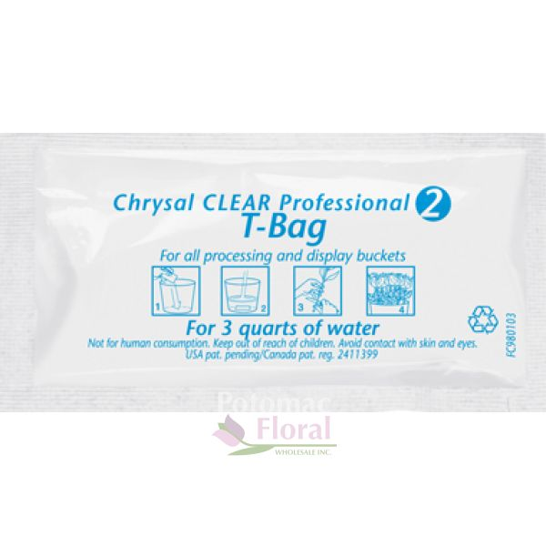 Chrysal Preservative Tea Bags 1 2 Quart Potomac Fl