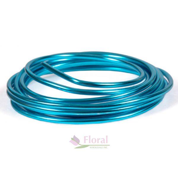 Turquoise OASIS Mega Wire 9-1/2\' x 6 gauge - Potomac Floral Wholesale